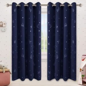 Curtains 84 Inches Long for Kids Room  52x84 Inch